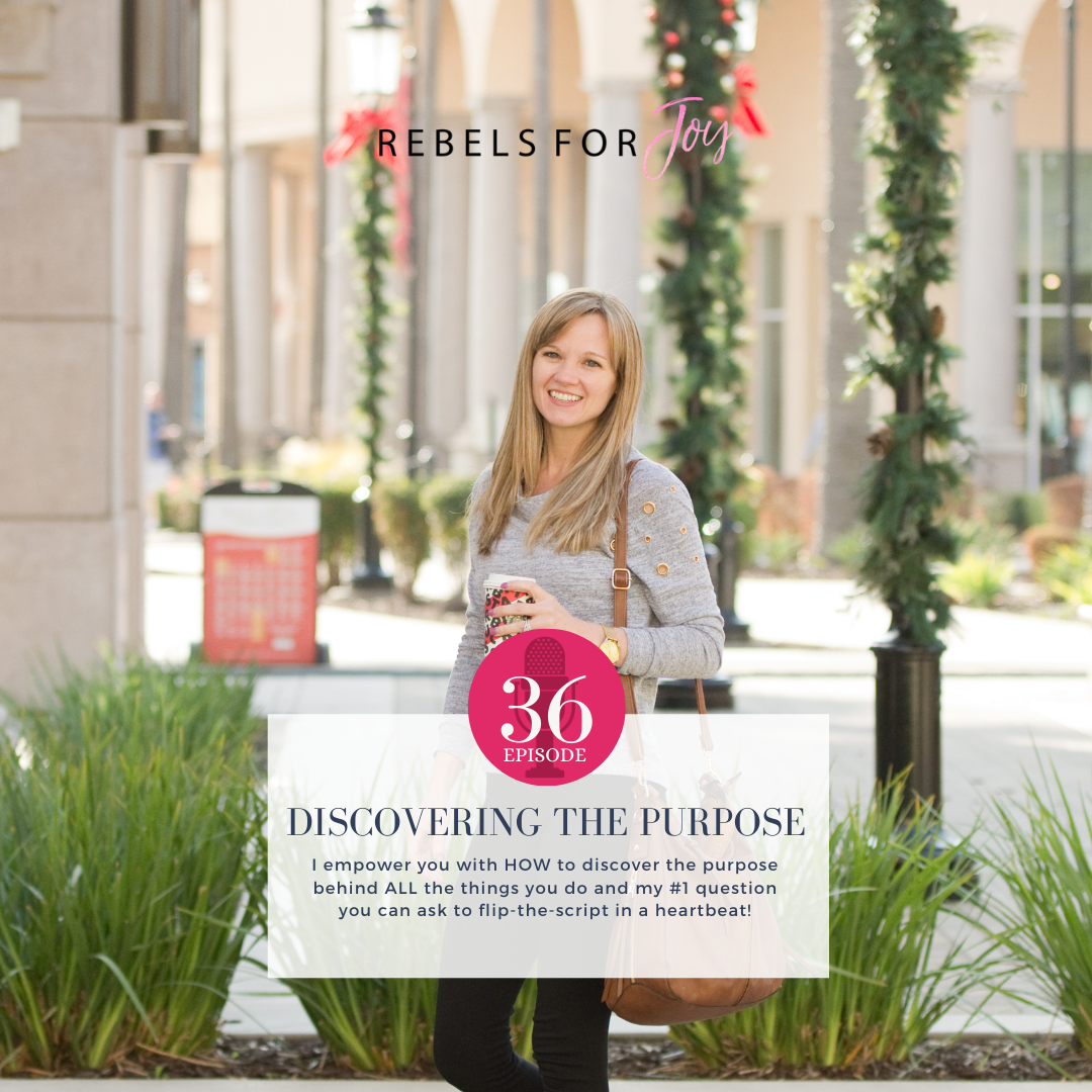 Episode 36: Discovering The Purpose